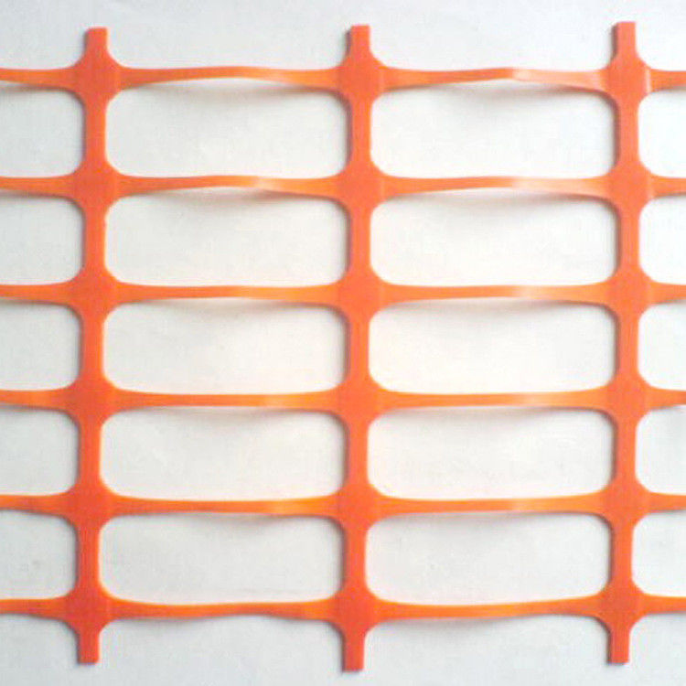 200gsm HDPE Orange Plastic Temporary Fencing For Construction
