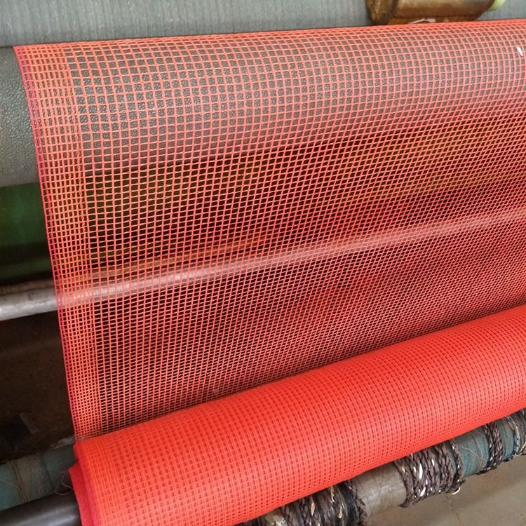 Fire Retardant Orange Scaffolding Construction Debris Safety Netting