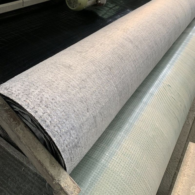 Grey Canvas GCCM 8mm Concrete Mat Cloth For Irrigation Channels